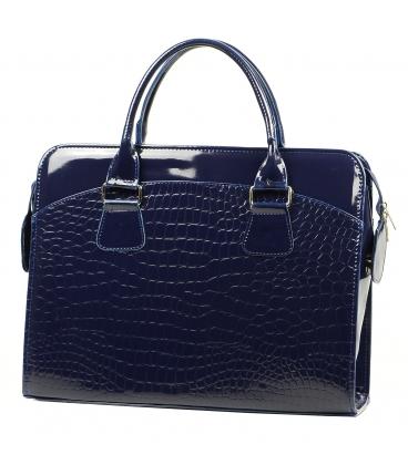 """Modrá elegantná taška na """"15,4"""" notebook ST01 - Grosso"""