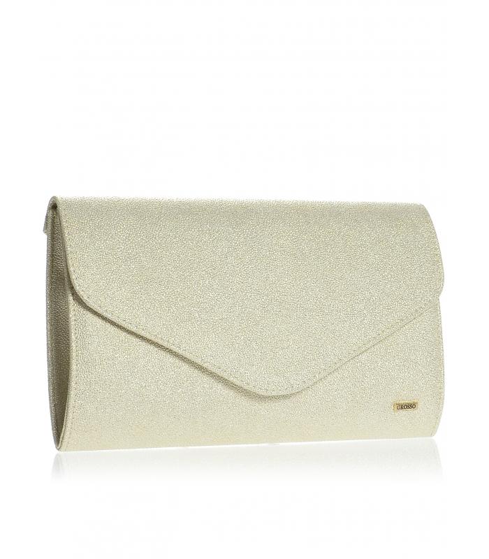Zlatá brokátová spoločenská kabelka SP102 - Grosso - Grosso 2d9ee908db4