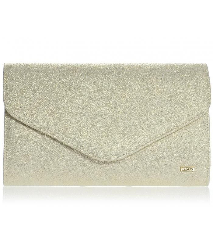 9bddc05d5a Zlatá brokátová spoločenská kabelka SP102 - Grosso - Grosso