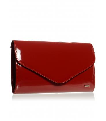 Tmavě červená lakovaná psaníčko SP102 - Grosso