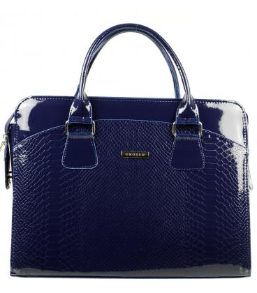 Kék Elegáns notebook táska ST01 lépésben - a Grosso