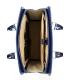 Modrá elegantní taška na notebook ST01 kroko - Grosso