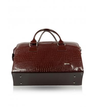 Bordová taška na notebook 15,6´´ Grosso