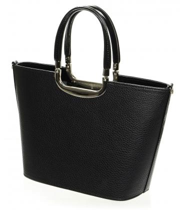 Čierna matná kabelka do ruky S7 - Grosso