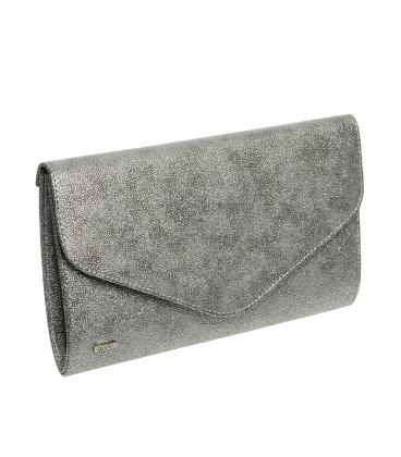 Sötét ezüst borítéktáska SP102b - Grosso