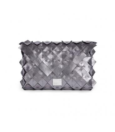 kabelka- Mila - stříbrná