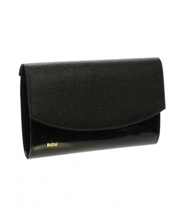 čierna listová kabelka SP132 -  Grosso