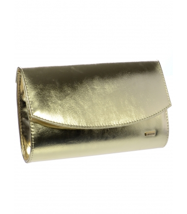 Elegantná zlatá listová kabelka SP132 -  Grosso