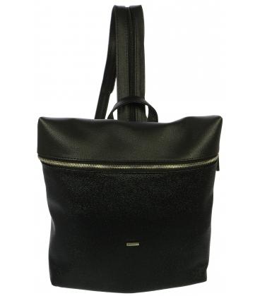 Čierny crossbody batoh s odleskami M285 - Grosso