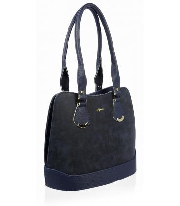 Modrá menšia kabelka cez rameno S608 - Grosso
