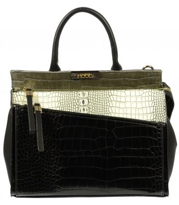 Elegantná kabelka s kroko efektom NO2211 - Nobo