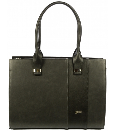 Čierna matná kabelka S499 - Grosso