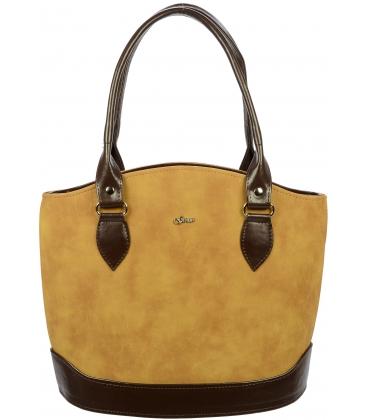 Elegantná kabelka v hnedých odtieňoch S55 - Grosso