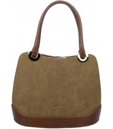 Hnedá kabelka cez rameno S608 - Grosso