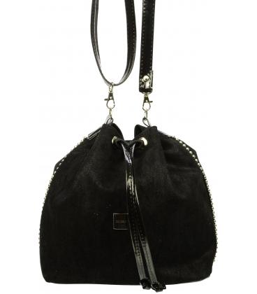 Čierna crossbody taška so zdobením M269 - Grosso