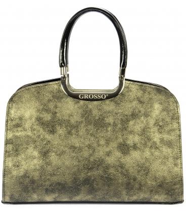 Zlatá pretiaraná kabelka S6 - Grosso