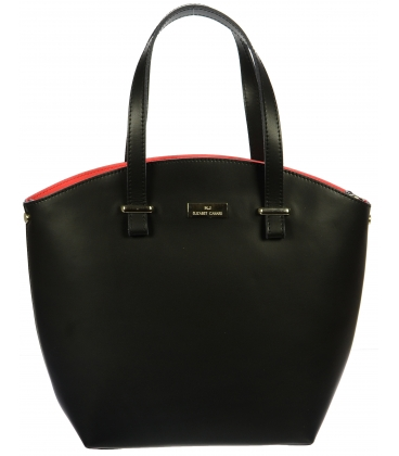 Fekete és vörös táska K728 - Grosso