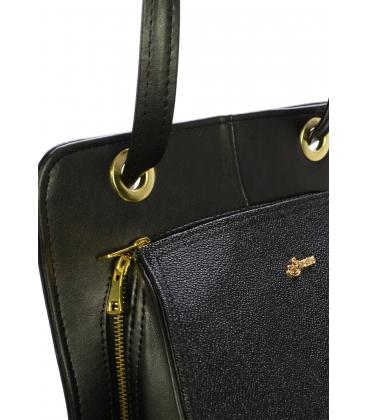 Čierny trendový batoh S707 - Grosso
