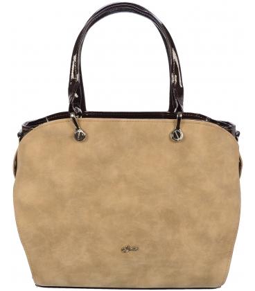 Piesková elegantná kabelka S686 - Grosso