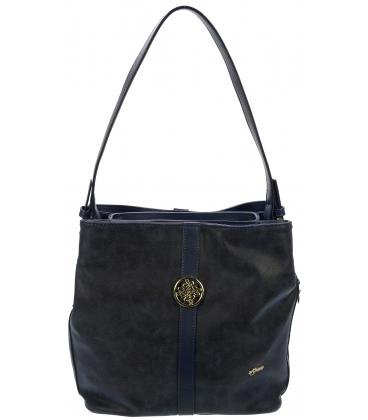 Modrá športová kabelka S404 - Grosso