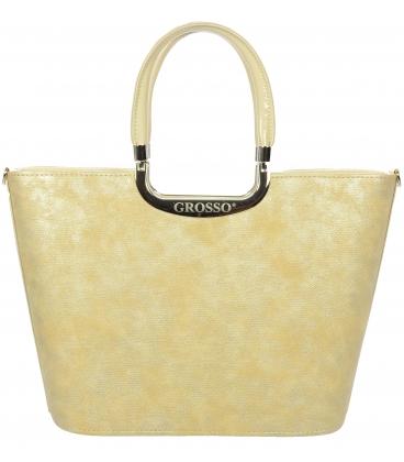 Béžová kabelka V18SM002BEI    - Grosso