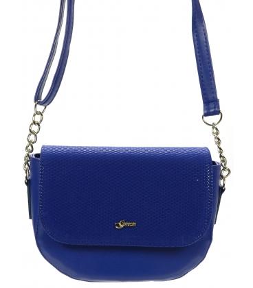 Modrá crossbody kabelka  V18SM006BLU - Grosso