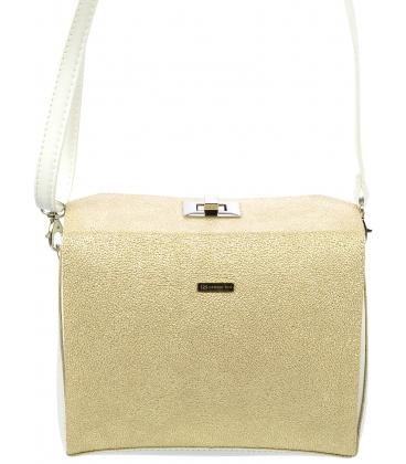 Zlatá crossbody kabelka so zlatým zapínaním C18SM027GLD