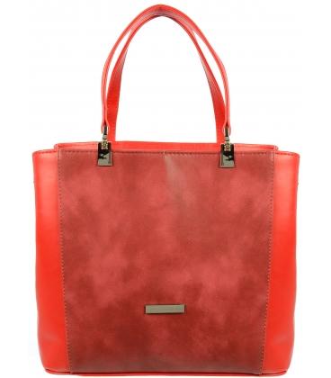 Červenobordová kabelka V18SM028RED