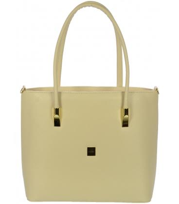 Béžová kabelka V18SM046BEI - GROSSO