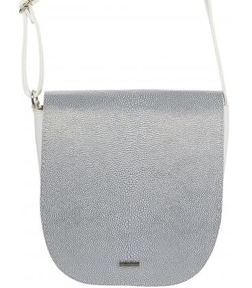 Stříbrná crossbody kabelka C18SM007SLV - GROSSO