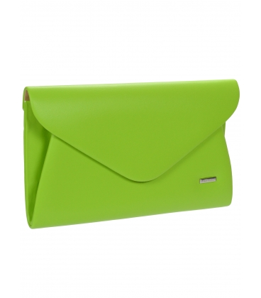 Zelená listová kabelka S18SM004GRE - GROSSO