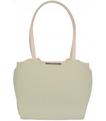 Bežová elegantná kabelka V18SM069BEI - GROSSO