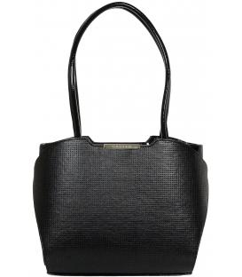 Čierna elegantná kabelka V18SM069BLC - GROSSO