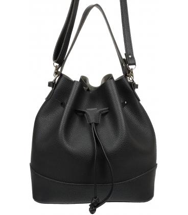 Čierna kabelka V18SM074BLC - GROSSO