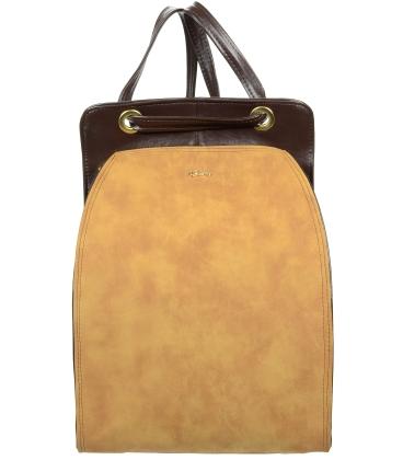 Čokoládovo hnedý batoh B18SM001BRW - GROSSO