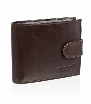 Pánská kožená čokoládově hnědá peněženka AM-21R-035 CHOCO BROWN