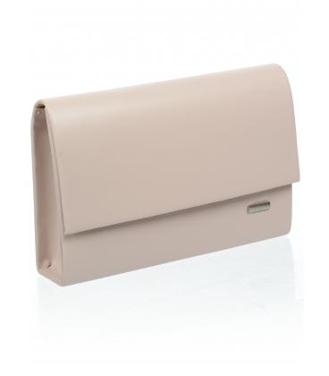 Pudrová listová kabelka S18SM009PNK - GROSSO