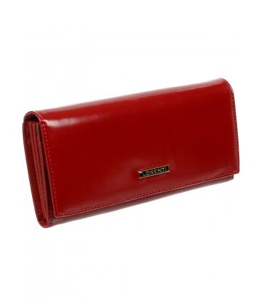 Női piros bőr tárcsa 72401 NIC-RED