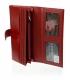 Dámska červená kožená peňaženka JP515NIC-RED
