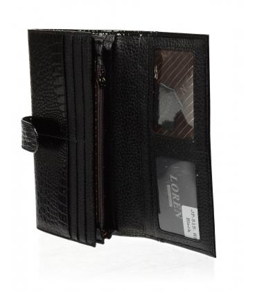 Dámska čierna kožená peňaženka JP515RS-BLACK