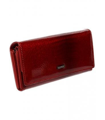 Női bőr piros pénztárca 64003-RS RED