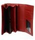Dámska kožená červená peňaženka 64003-RS RED