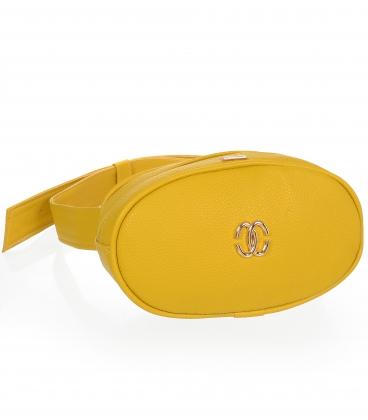 Žlutá menší kapsička na pás C18SM05YLW - GROSSO