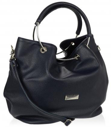 Čierna kabelka cez rameno V18SM77BLC - GROSSO