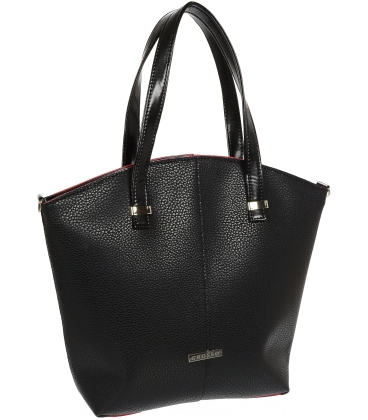 Čierna elegantná kabelka V18SM082BLC - GROSSO