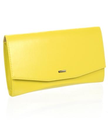 Žltá listová kabelka S18SM063YEL - GROSSO