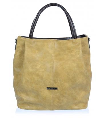 Piesková elegantná kabelka V18SM042BEI - GROSSO