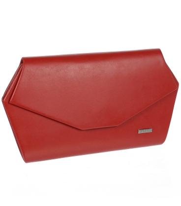 Červená listová kabelka S18SM006RED - GROSSO