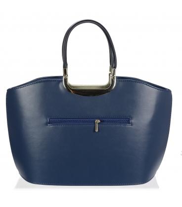 Tmavomodrá elegantná kabelka V18SM084BLU - GROSSO