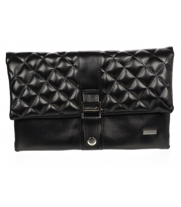Čierna listová kabelka S18SM020BLC - Grosso